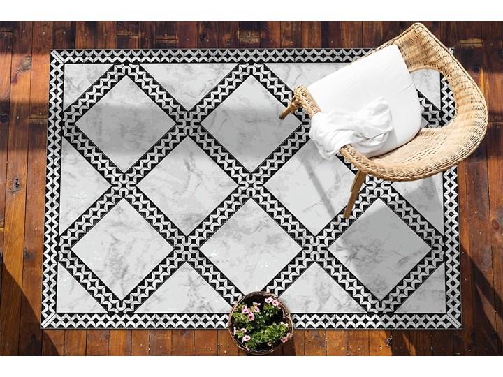 Nowoczesny dywan na balkon wzór Marmur wzorek 60x90 cm 80x120 cm Pomieszczenie Balkon i taras Dywany Prostokątny Winyl Kategoria Dywany