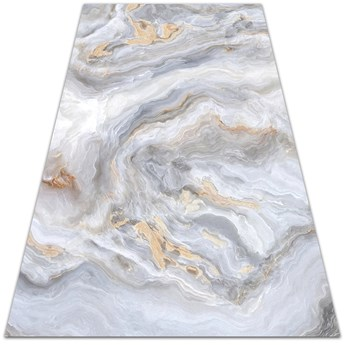 Nowoczesny dywan outdoor wzór Marmurowe morze