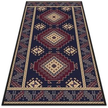 Piękny dywan zewnętrzny Abstrakcja geometryczna