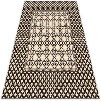 Nowoczesny dywan na balkon wzór Drobny wzorek