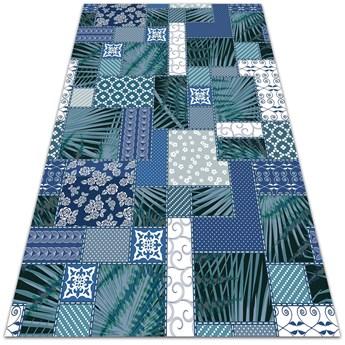 Dywan balkonowy wzór Tropikalny patchwork