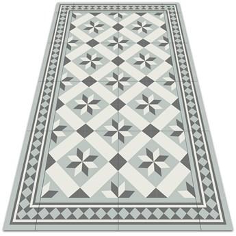 Nowoczesny dywan tarasowy Gwiazda ośmioramienna