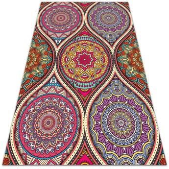 Dywan na taras zewnętrzny Kolorowa mandala