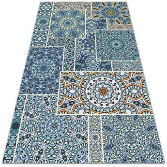 Dywan ogrodowy piękny wzór Mandala patchwork