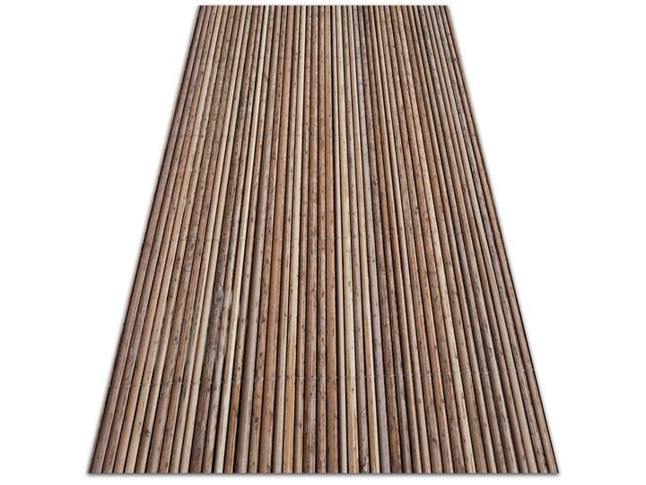 Dywan na taras do ogrodu na balkon Bambusowa mata 80x120 cm Winyl Dywany Prostokątny 60x90 cm Pomieszczenie Salon