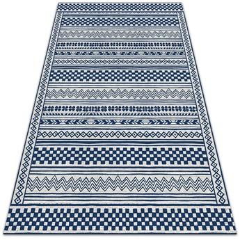 Nowoczesny dywan tarasowy Geometryczny szlaczek