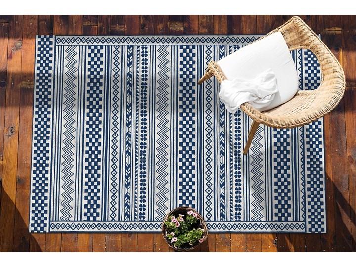 Nowoczesny dywan tarasowy Geometryczny szlaczek Pomieszczenie Przedpokój Winyl Prostokątny 80x120 cm Dywany 60x90 cm Pomieszczenie Salon