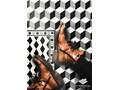 Winylowy dywan do domu Wzór 3D 80x120 cm 60x90 cm Syntetyk Prostokątny Pomieszczenie Salon Poliester Dywany Kolor Czarny