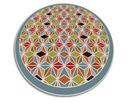 Wewnętrzny dywan winylowy Wewnętrzny dywan winylowy abstrakcyjny kalejdoskop