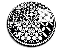 Modny winylowy dywan Modny winylowy dywan portugalskie kafelki
