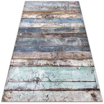 Wewnętrzny dywan winylowy Poziome deski