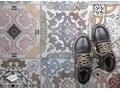 Modny winylowy dywan Portugalskie kafle 60x90 cm 80x120 cm Dywany Poliester Prostokątny Pomieszczenie Sypialnia Syntetyk Pomieszczenie Balkon i taras