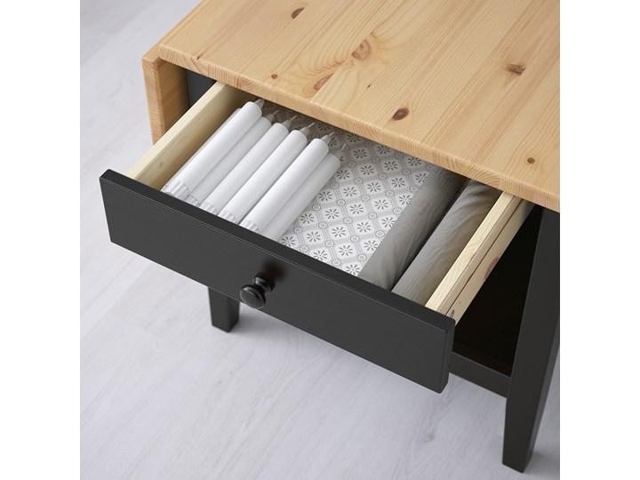 ARKELSTORP Stolik kawowy Wysokość 52 cm Kategoria Stoliki i ławy Drewno Kolor Czarny