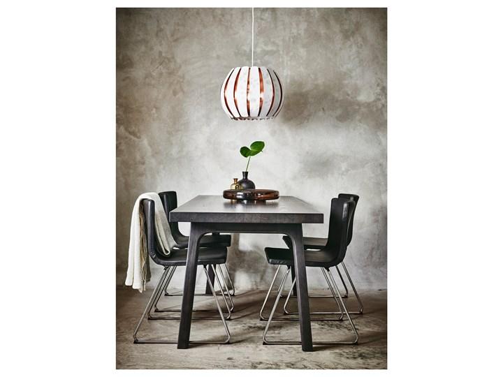 BERNHARD Krzesło Głębokość 50 cm Głębokość 40 cm Szerokość 45 cm Wysokość 77 cm Skóra Wysokość 48 cm Szerokość 50 cm Kategoria Krzesła kuchenne