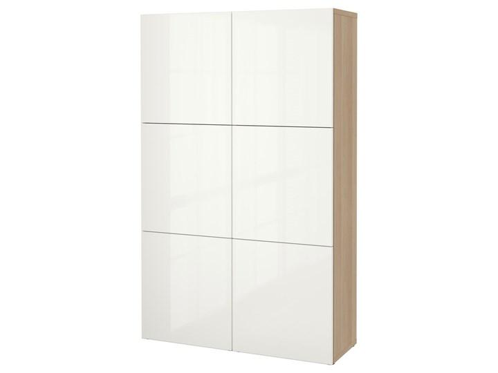 BESTA Kombinacja z drzwiami Drewno Kolor Biały