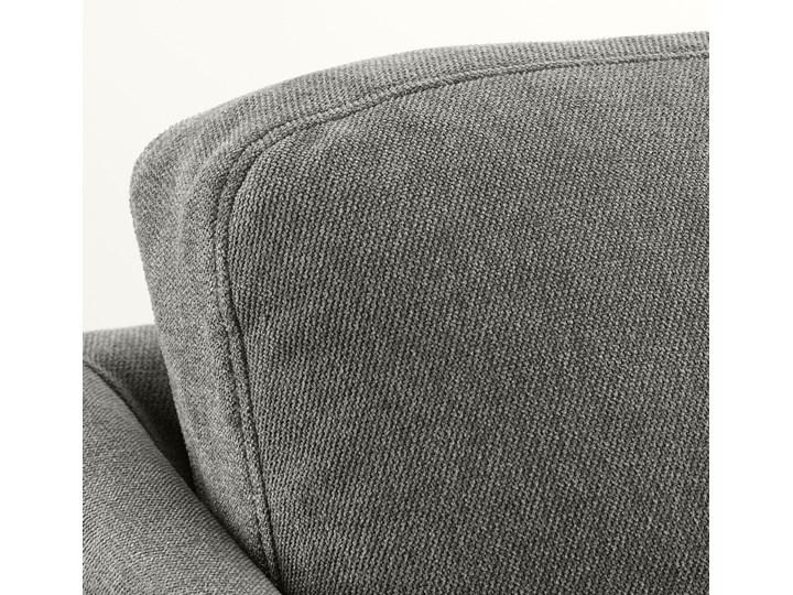 BRATHULT Narożnik z funkcją spania Kolor Szary Stała konstrukcja Szerokość 140 cm Wysokość 69 cm Szerokość 212 cm W kształcie L Boki Z bokami