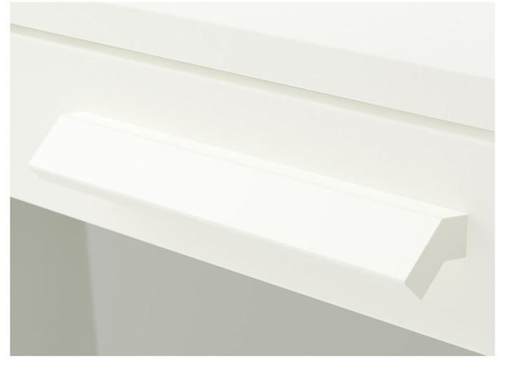 BRIMNES Komoda, 4 szuflady Głębokość 46 cm Głębokość 39 cm Z szufladami Wysokość 124 cm Głębokość 36 cm Szerokość 39 cm Kolor Biały