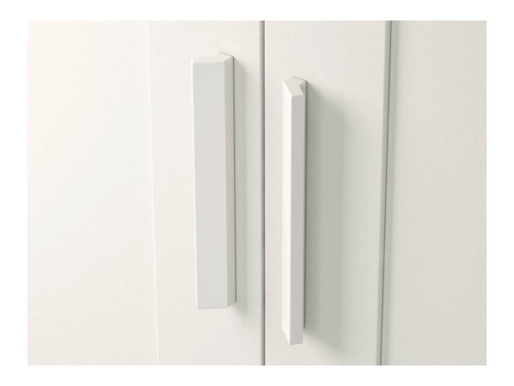 BRIMNES Szafa 2 drzwi Szerokość 78 cm Lustro Głębokość 50 cm Wysokość 190 cm Kolor Biały