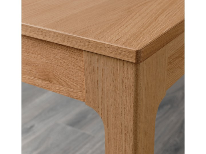 EKEDALEN Stół rozkładany Wysokość 75 cm Szerokość 70 cm Długość 80 cm  Drewno Długość 120 cm  Kategoria Stoły kuchenne Kolor Beżowy