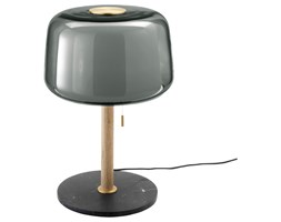 IKEA EVEDAL Lampa stołowa, marmur/szary