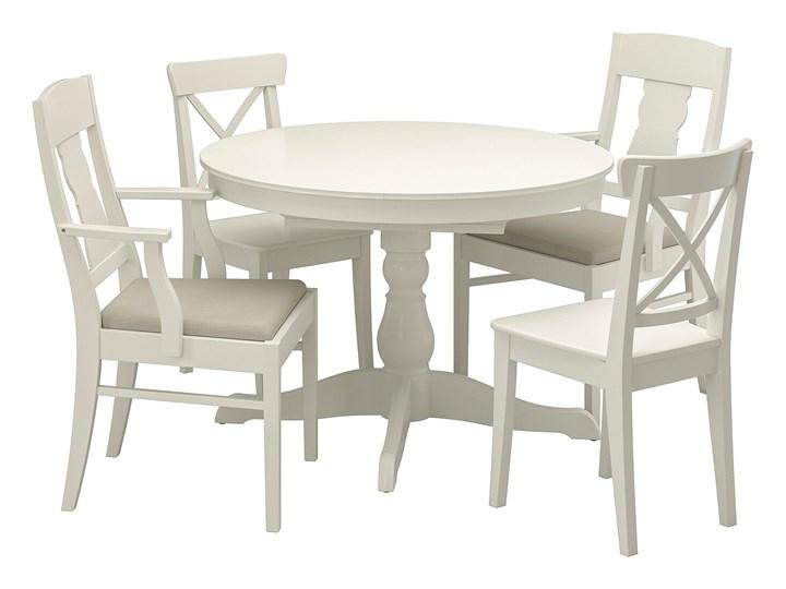 INGATORP / INGOLF Stół i 4 krzesła Kolor Biały Kategoria Stoły z krzesłami