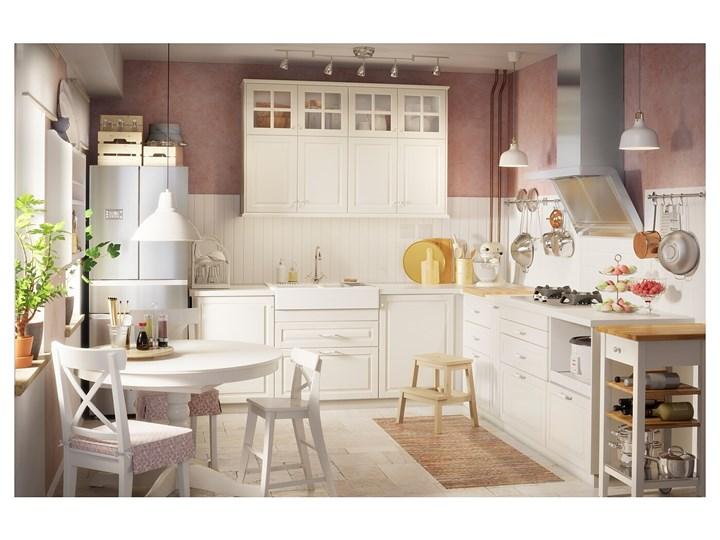 IKEA INGATORP Stół rozkładany, Biały, 110/155 cm Płyta MDF Kategoria Stoły kuchenne Rozkładanie Rozkładane