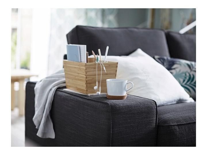IKEA KIVIK Sofa narożna 5-osobowa, z szezlongiem/Hillared antracyt, Głębokość szezlonga: 163 cm Rozkładanie