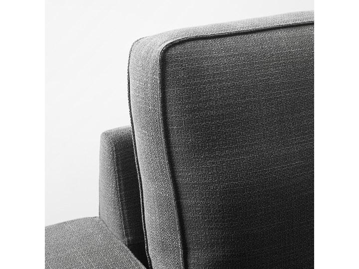 IKEA KIVIK Sofa narożna 5-osobowa, z szezlongiem/Hillared antracyt, Głębokość szezlonga: 163 cm Kolor Czarny