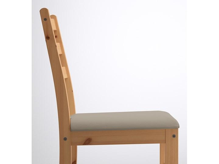 IKEA LERHAMN Stół i 2 krzesła, bejca jasna patyna biała bejca/Vittaryd beżowy, 74x74 cm Kolor Biały