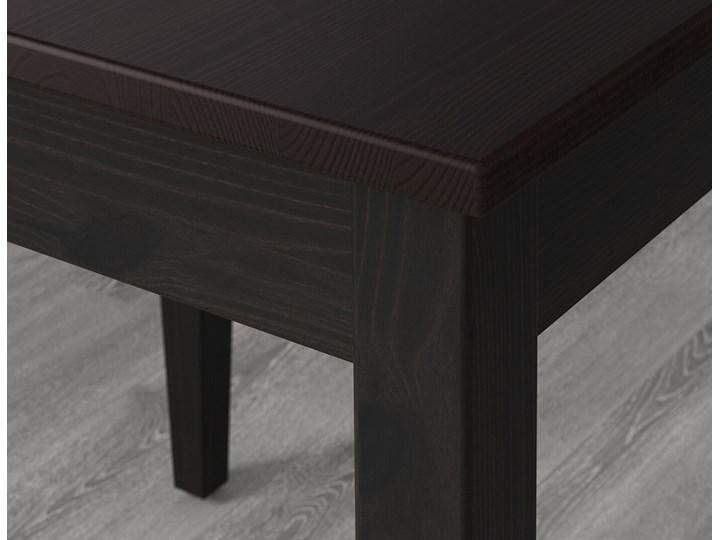 IKEA LERHAMN Stół i 2 krzesła, czarnybrąz/Vittaryd beżowy, 74x74 cm Kategoria Stoły z krzesłami