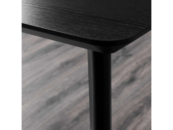 IKEA LISABO / IDOLF Stół i 4 krzesła, czarny/czarny, 140x78 cm Kategoria Stoły z krzesłami