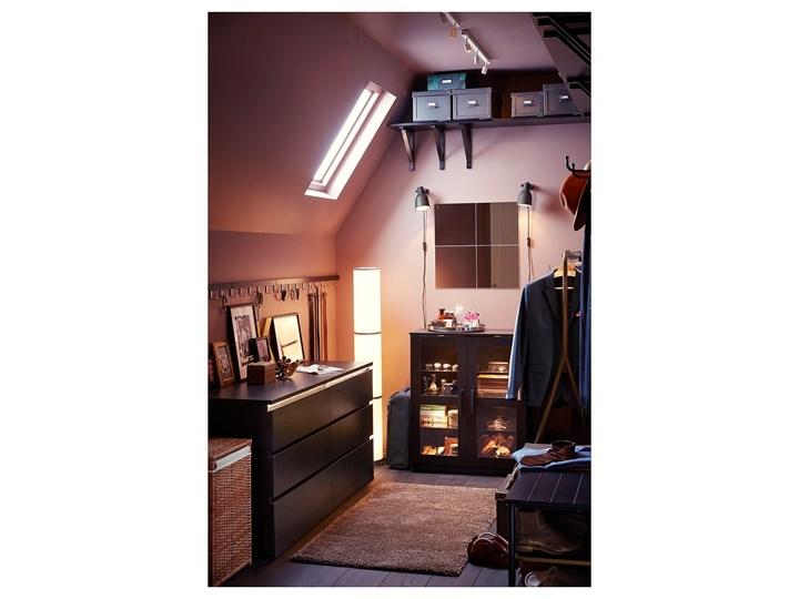 IKEA MALM Komoda, 6 szuflad, Czarnobrąz, 160x78 cm Z szufladami Pomieszczenie Sypialnia Szerokość 160 cm Płyta MDF Kategoria Komody