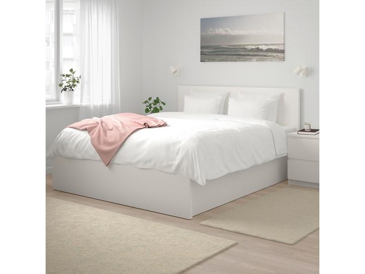 MALM Łóżko z pojemnikiem Łóżko drewniane Kolor Biały