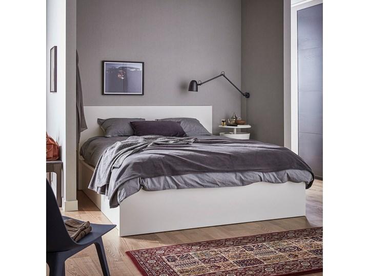 MALM Łóżko z pojemnikiem Kolor Biały Łóżko drewniane Kategoria Łóżka do sypialni