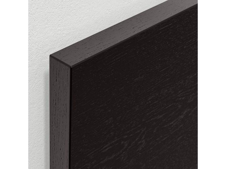 MALM Łóżko z pojemnikiem Łóżko drewniane Kolor Czarny