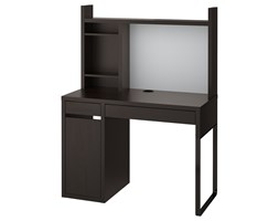 IKEA MICKE Biurko, czarnobrąz, 105x50 cm