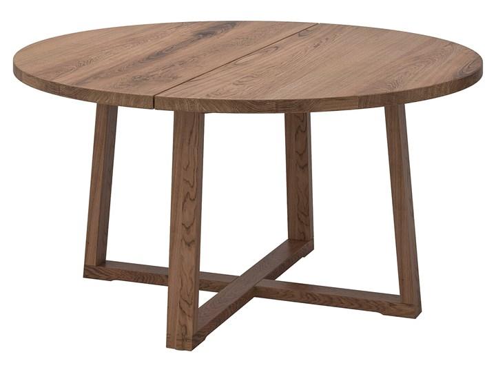 MORBYLANGA Stół Wysokość 75 cm Długość 145 cm  Szerokość 145 cm Drewno Kształt blatu Okrągły