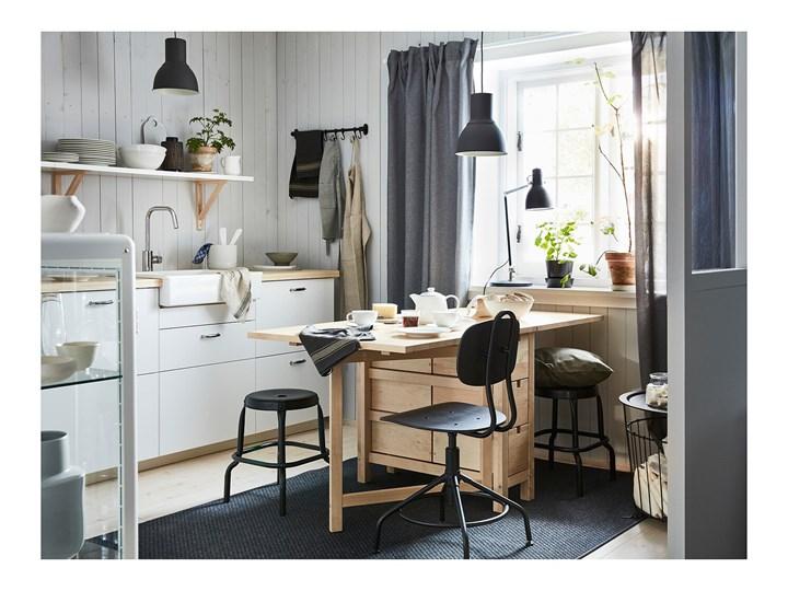 IKEA NORDEN Stół z opuszczanym blatem, Brzoza, 26/89/152x80 cm Drewno Długość 152 cm Kolor Beżowy