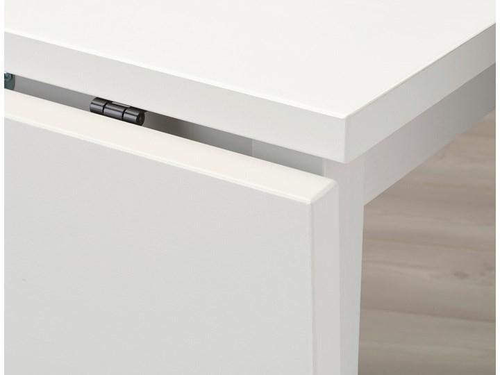 IKEA NORDVIKEN Stół z opuszcz blatem, Biały, 74/104x74 cm Wysokość 75 cm Długość 104 cm Sosna Drewno Kategoria Stoły kuchenne Styl Minimalistyczny