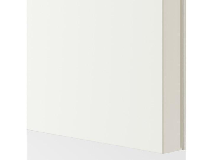 PAX Szafa Wysokość 201,2 cm Głębokość 66 cm Lustro Szerokość 200 cm Kolor Biały