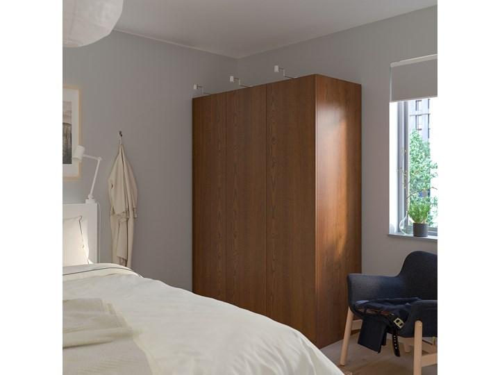 IKEA PAX Szafa, imitacja okleiny bejc na brąz/Forsand imitacja okleiny bejc na brąz, 150x60x201 cm Szerokość 150 cm Głębokość 60 cm Płyta laminowana Wysokość 201,2 cm Rodzaj frontów Naturalne