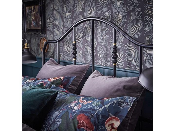 SAGSTUA Rama łóżka Łóżko metalowe Kategoria Łóżka do sypialni Kolor Czarny
