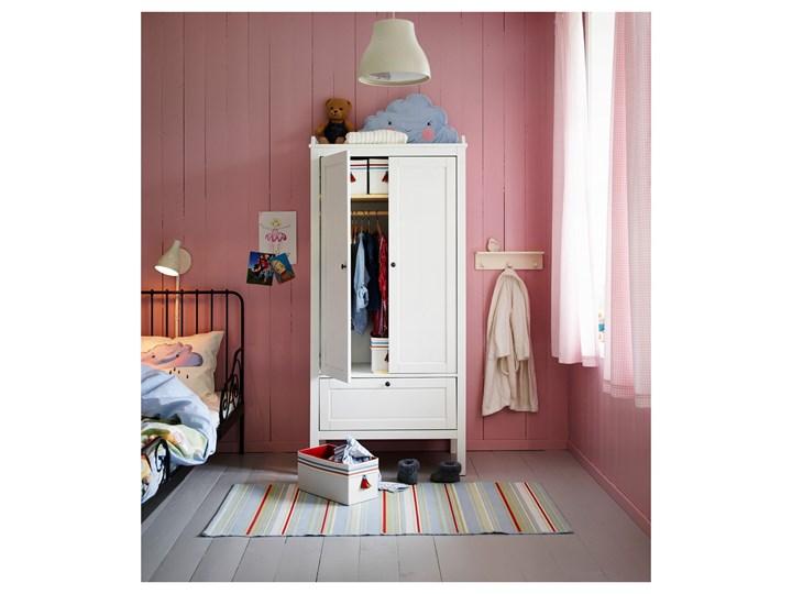 IKEA SUNDVIK Szafa, Biały, 80x50x171 cm Drewno Płyta MDF Kategoria Szafy do garderoby