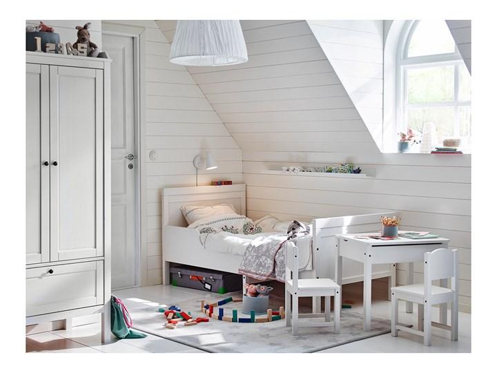IKEA SUNDVIK Szafa, Biały, 80x50x171 cm Rodzaj frontów Mat Płyta MDF Drewno Kategoria Szafy do garderoby