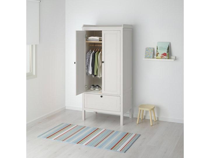 IKEA SUNDVIK Szafa, Biały, 80x50x171 cm Płyta MDF Drewno Rodzaj drzwi Uchylne