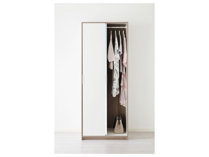 TRYSIL Szafa Szerokość 79 cm Ilość drzwi Dwudrzwiowe Głębokość 61 cm Wysokość 202 cm Pomieszczenie Sypialnia