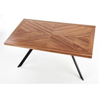 Nierozkładany stół do jadalni z fornirowanym blatem Tyson