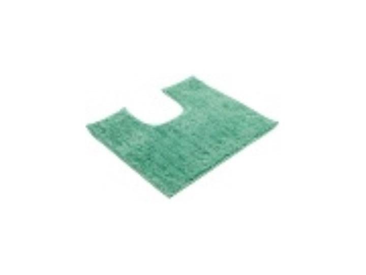 Dywanik łazienkowy GÖZZE Rio 1025-82-050046 Miętowy Poliester Mikrofibra Kolor Turkusowy