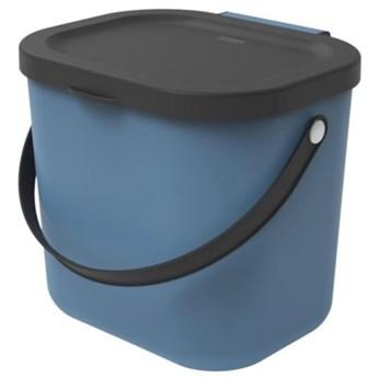 Kosz na śmieci ROTHO 1030306161 Albula 6 L Niebieski