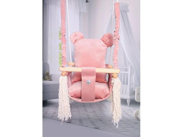 Różowa huśtawka miś dla dziewczynki - Endo Kubełkowa Kategoria Huśtawki dla dzieci